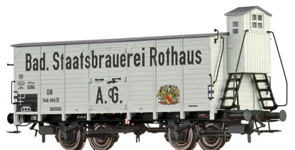 Brawa 67475 - Beer Car G10 Rothaus DB