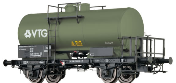 Brawa 67518 - German Tank Car Z[P] VTG of the DB-AG