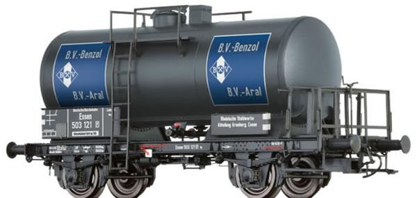 Brawa 67529 - Tank Wagon 2-axled Z [P] BV-BENZOL BV-ARAL DRG