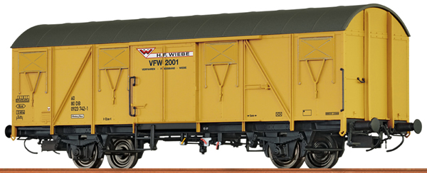 Brawa 67816 - Covered Freight Car GBS 245 of the WIEBE