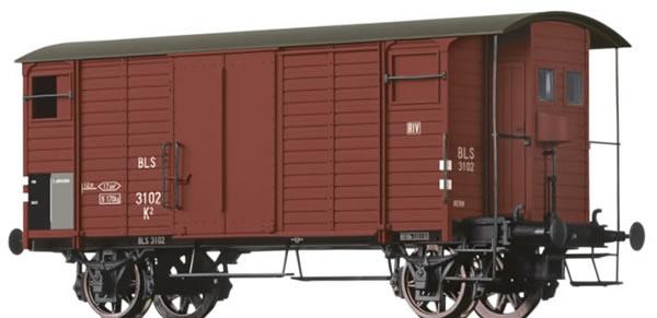 Brawa 67852 - Covered Freight Car K2 BLS