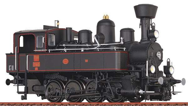 Brawa 70002 - H0 Steam Locomotive 178 kkStB, I, DC Dig.