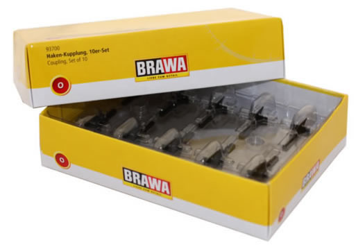Brawa 93700 - 0 Coupling [10 pieces]