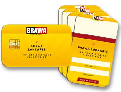 Brawa 93705 - Locomotive Card – set of 5