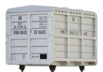Brawa 93708 - German Container Load Von Haus zu Haus of the DB