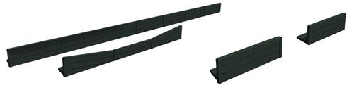 Brawa 94003 - H0 Platform Edge Sleepers