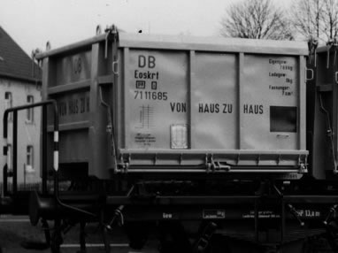 Brawa 94704 - German Open Container Load Eoskrt 022 of the DB