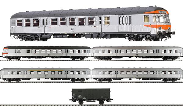 Brawa B1910 - German SILBERLING Train Set of the DB - SILVER