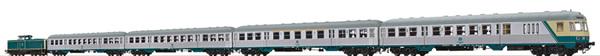 Brawa B2009 - German Passenger Train Set with Diesel Locomotive BR212 of the DB (DCC Sound Decoder)