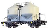 O Scale Cement Silo Car Ucs909 EVA,