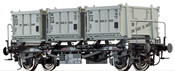 O Scale Container Car BTs30 DB, III