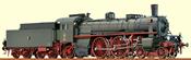 H0 Steam Loco S9 KPEV, I, AC