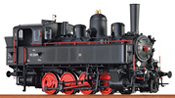 Austrian Steam Locomotive 178 of the BBÖ