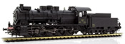 Luxemburgian Steam Locomotive BR 57 of the CFL (DCC Sound Decoder)