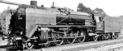 German Steam Locomotive BR 02 of the DRG