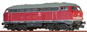 German Diesel Locomotive V160 of the DB