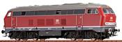German Diesel Locomotive 216 of the DB
