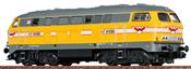 German Diesel Locomotive 216 of the Wiebe (DCC Sound Decoder)