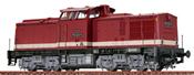 German Diesel Locomotive 110 of the DR