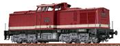 German Diesel Locomotive 110 of the DR (DCC Sound Decoder)