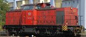 German Diesel Locomotive 203 of the DB