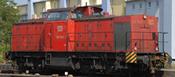German Diesel Locomotive 203 of the DB (DCC Sound Decoder)