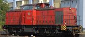 German Diesel Locomotive 203 of the DB (Sound Decoder)