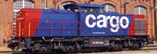 Swiss Diesel Locomotive 203 of the SBB (Sound Decoder)