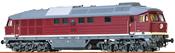 German Diesel Locomotive 132 of the DR (DC Digital Extra w/Sound)