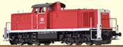 German Diesel Locomotive BR 290 of the DB (DCC Sound Decoder)