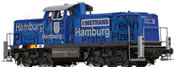 German Diesel Locomotive BR 295 Metrans BASIC+