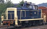 German Diesel Locomotive 363 of the DB (DC Analog Basic Plus)