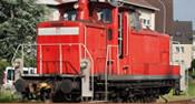 German Diesel Locomotive 362 of the DB AG (DC Analog Basic Plus)