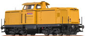 German Diesel Locomotive BR 213 of the DB AG (DCC Sound Decoder) - EXTRA