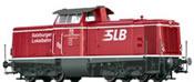 Austrian Diesel Locomotive BR 211