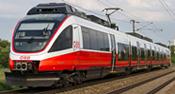 Austrian Electric Railcar 4024 of the ÖBB