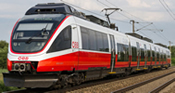 Austrian Electric Railcar 4024 of the ÖBB (DCC Sound Decoder)