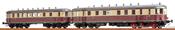 German Diesel Railcar VT137 + VB147 of the DRG (DC Digital Extra w/Sound)