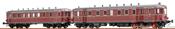 German Diesel Railcar VT62.9 + VB147 of the DB (DC Analog Basic Plus)