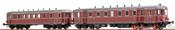 German Diesel Railcar VT62.9 + VB 147 of the DB (DC Digital Extra w/Sound)