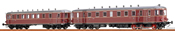 German Diesel Railcar VT62.9 + VB 147 of the DB (AC Digital Extra w/Sound)