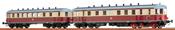 German Diesel Railcar VT137 + VB 147 of the DR (DC Digital Extra w/Sound)