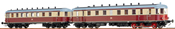 German Diesel Railcar VT137 + VB 147 of the DR (AC Digital Extra w/Sound)