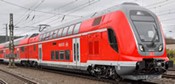German 3pc TWINDEXX Vario Double-Deck Train of the DB AG (AC Digital Extra w/Sound)