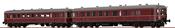 2pc German Railcar VT 60.5+945 of the DB