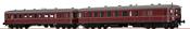2pc German Railcar VT 60.5+945 of the DB (DCC Sound Decoder)