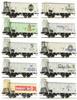 10pc Freight Car Set G10
