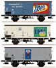 3pc Freight Car Set G10 Henkel Set