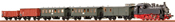 H0 Jubilee-Set Steam Loco Tn,