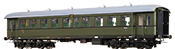 German Passenger Coach Bye-36/50 of the DRG